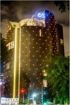 תאורה למלון בתל אביב