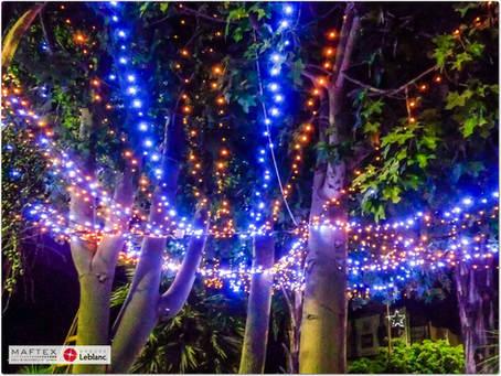 תאורה לקישוט עץ נצרת