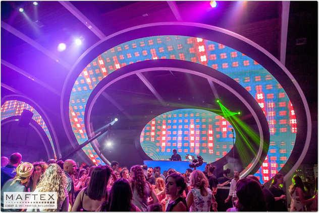 עיצוב תאורה לאולם אירועים