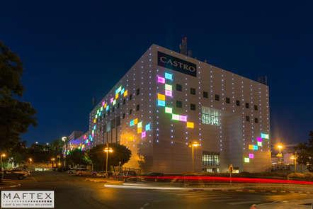 תאורה אדריכית למרכז קניות