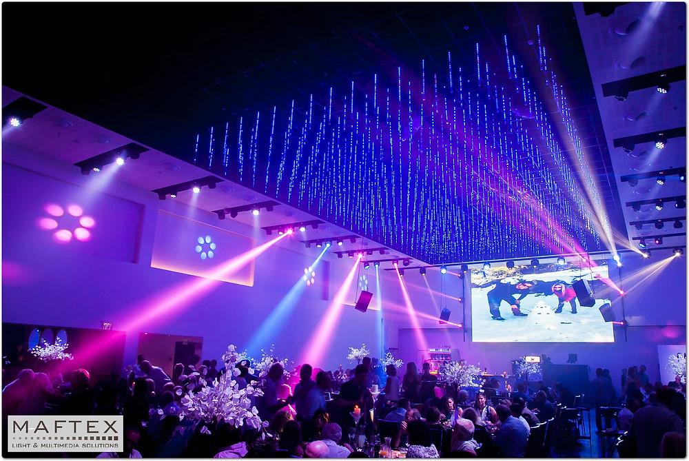 תאורה לגן ארועים