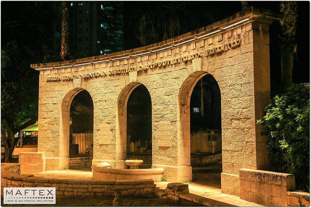 תאורה למבנה היסטורי