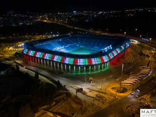 תאורה לאצטדיון טדי