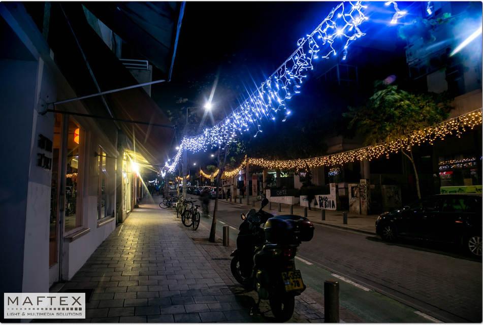 תאורה לקישוט רחוב