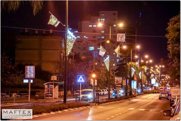 תאורה לקישוט עיר