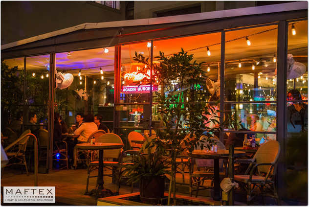 תאורה מיוחדת למסעדות