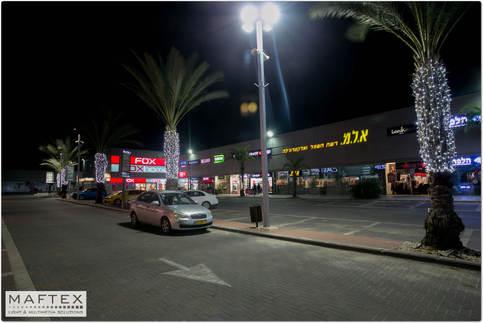 תאורה למרכז מסחרי