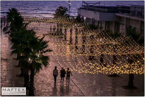 BAT YAM CITY LIGHTING DECORATIONS