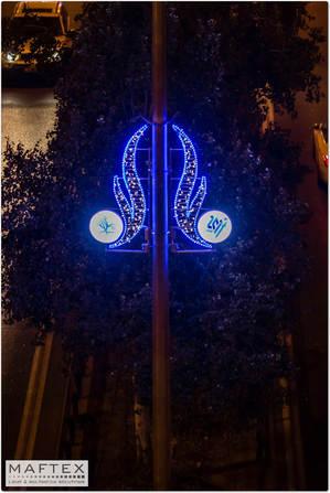 קישוטי תאורה לערים