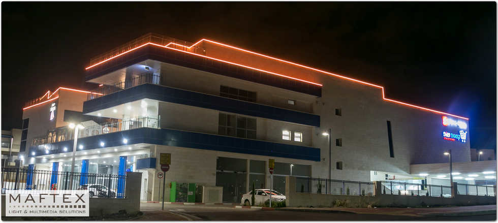 תאורה לבניין
