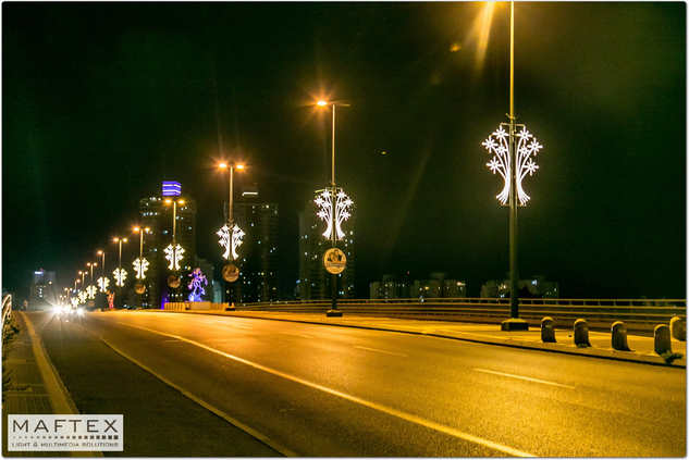 LIGHTING DECORATIONS NETANYA CITY