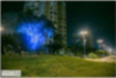 קישוטי תאורה לעצים