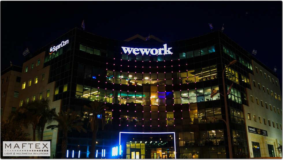 תאורה לבניין משרדים