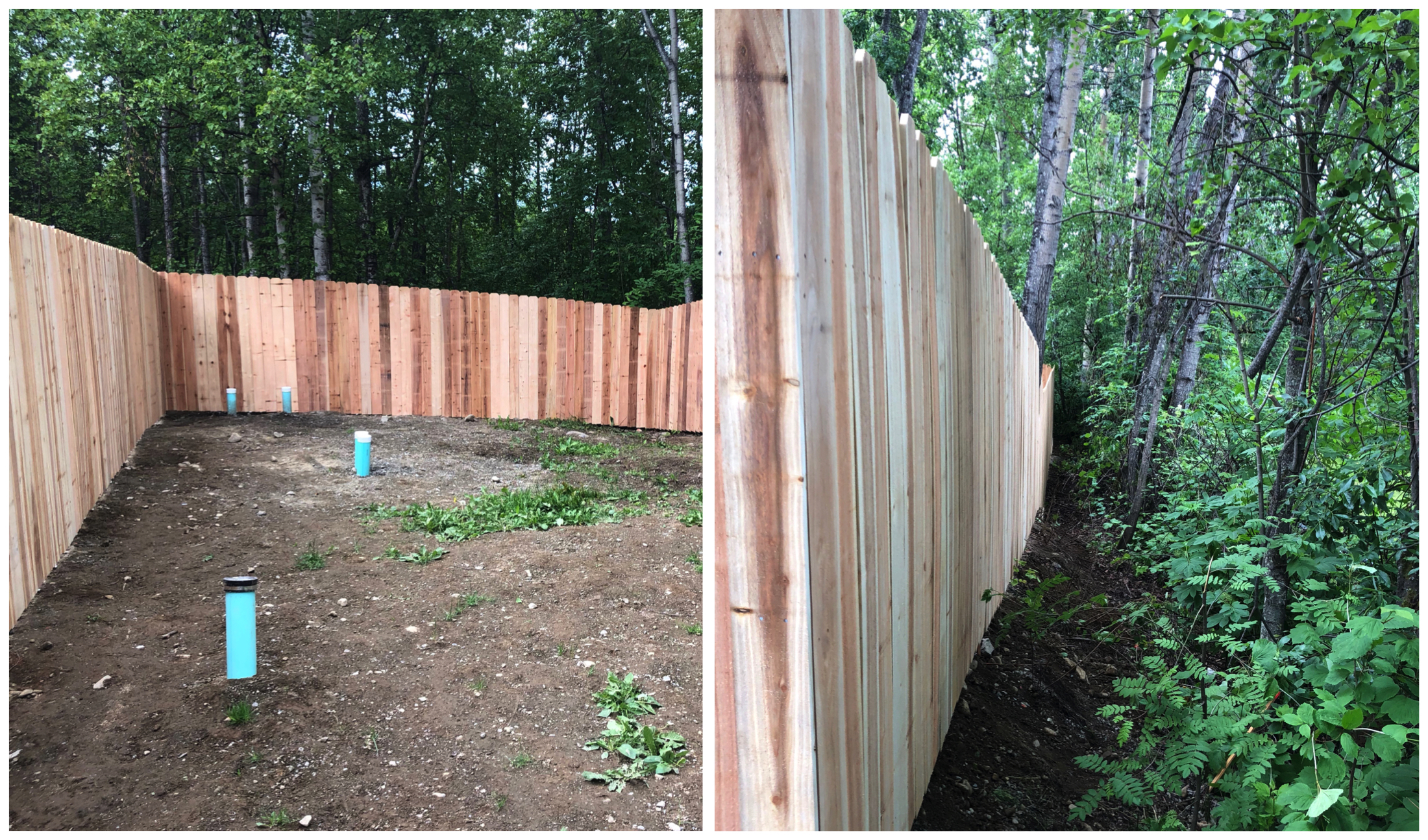 6' privacy fence -3