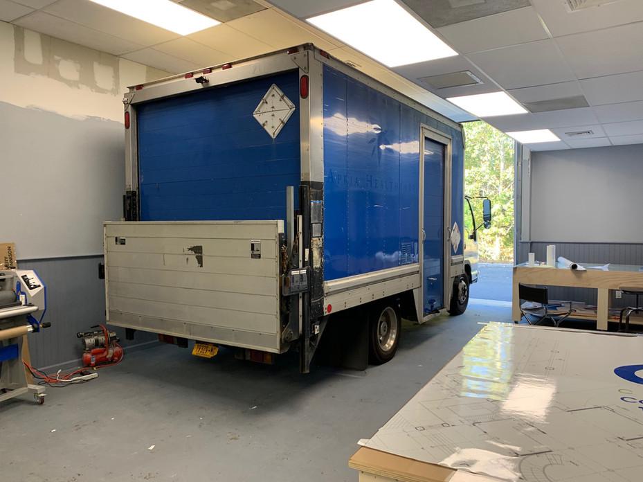 CQC Truck Before Wrap