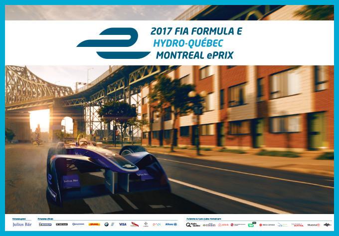 Montréal FIA FORMULA E 2017