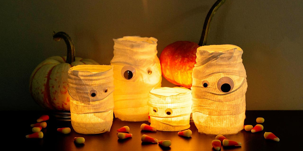 Kid's Craft Hour: Spooky Luminaries!