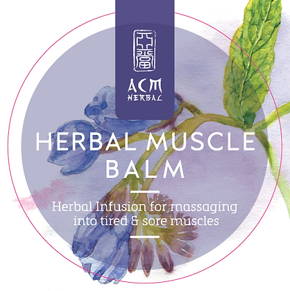 Herbal Muscle Balm 20g