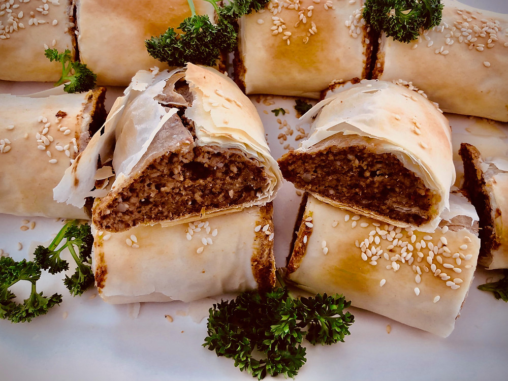 Picture of Aunty's meat free sausage rolls
