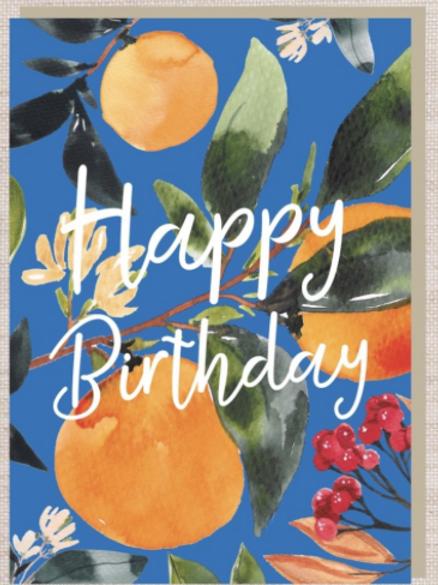 Birthday cards $2.50+