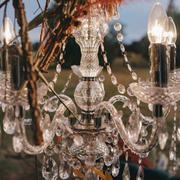 Five arm chandelier