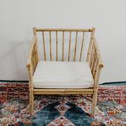 Scandi bamboo chairs singles
