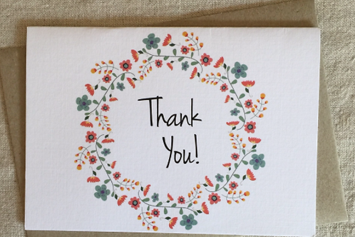Cards - Thank you/Just to say $2.50+