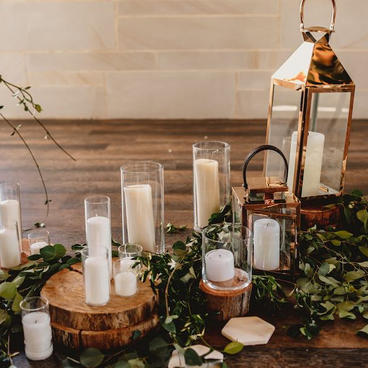 Cylindar glass vases
