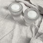 Tall rippled tealight votives