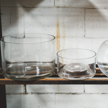 Glass float bowl