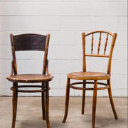 Vintage timber chairs