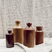 Vintage ceramic ink jars/vases