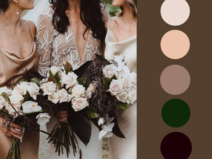 Bouquet breakdown: Clare & Dane