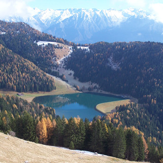 2 Lago  Lova da sentiero per Cima Moren.