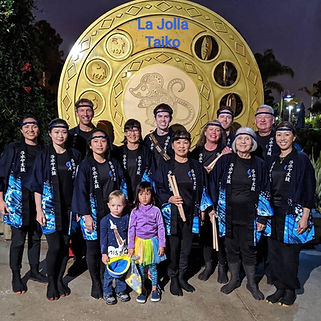 La Jolla Taiko Group Picture.JPG