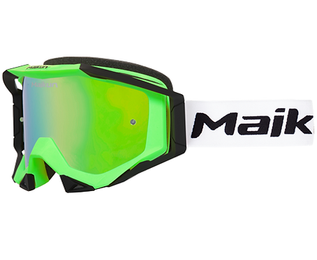 Maikun goggles Fluo Green