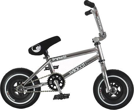 Wildcat Galaxy 2A Mini BMX Bike (Silver/Black - No Brakes)
