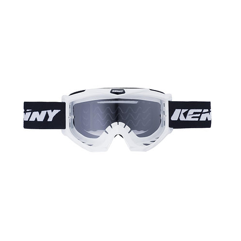 Kenny Goggles White/Black Adult