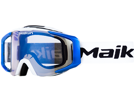 Maikun goggles Blue & White
