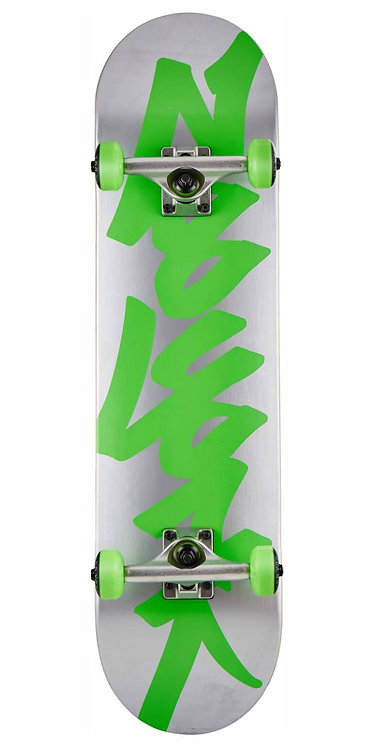 Zoo York Skateboard Silver & Green