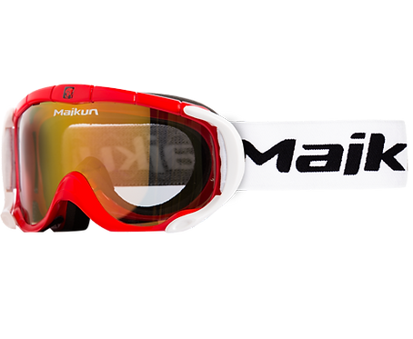 Maikun goggles Red & White Kids