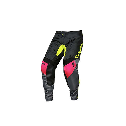 Seven Youth Annex Ignite Pants Black & Fluo Yellow