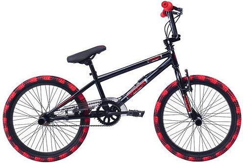 Rock Freestyle 20 Inch 28 cm Junior V-Brakes Zwart/Rood