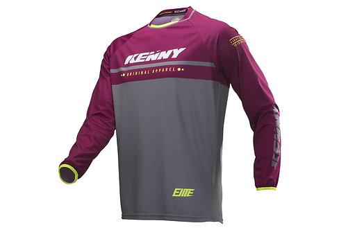 Kenny Elite Long Sleeve Jersey Burgundy