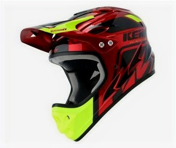 Helmet Downhill Candy / Red