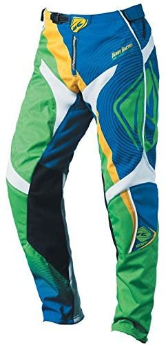 Kenny Track Pants Kids Green & Blue