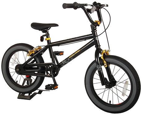 Volare Cool Rider 16 Inch 25,4 cm Jongens Knijprem Zwart