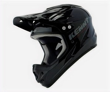 Helmet Downhill Black