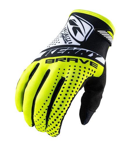 Kids Brave Gloves Neon Yellow 2021