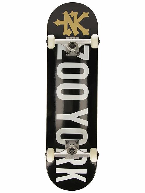 Zoo York Skateboard Black & Gold